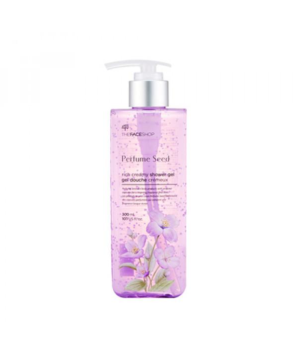 [THE FACE SHOP] Perfume Seed Rich Creamy Shower Gel - 300ml