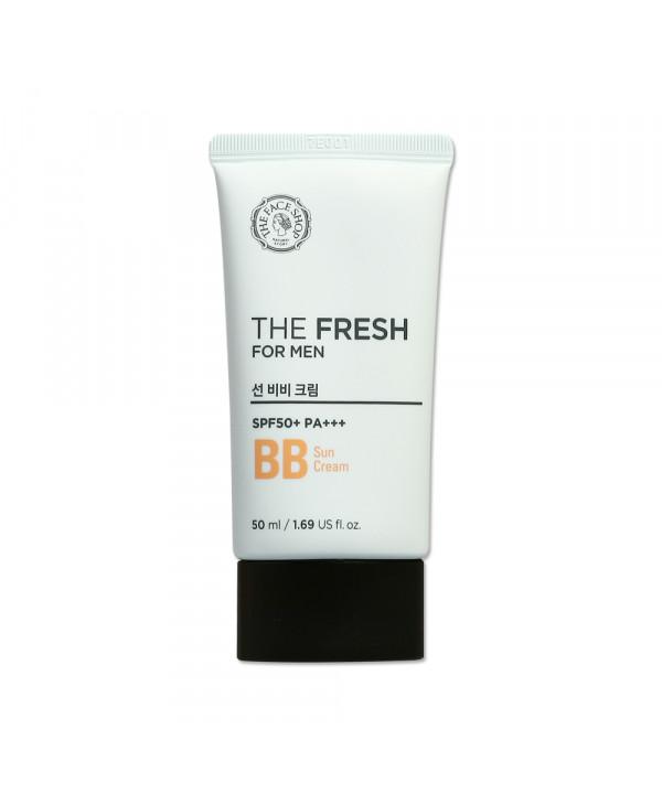 [THE FACE SHOP] The Fresh For Men Sun BB Cream - 50ml (SPF50+ PA+++)