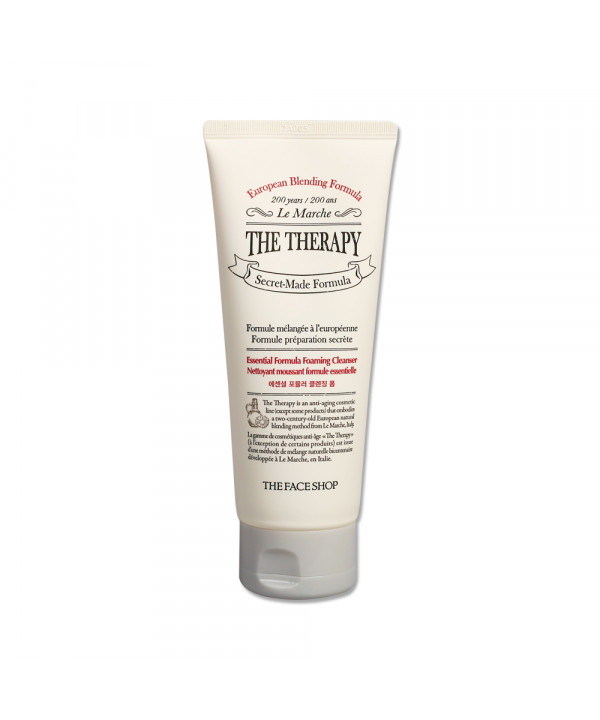 [THE FACE SHOP] The Therapy Essential Formula Foaming Cleanser - 150ml