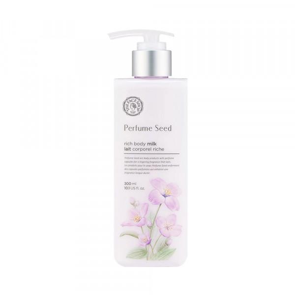 [THE FACE SHOP] Perfume Seed Rich Body Milk - 300ml