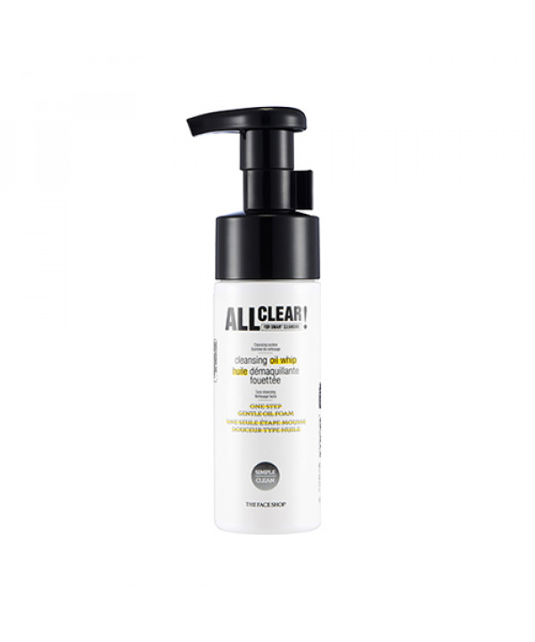 [THE FACE SHOP_50% SALE] All Clear Cleansing Oil Whip - 150ml