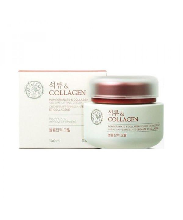 [THE FACE SHOP] Pomegranate & Collagen Volume Lifting Cream - 100ml