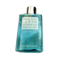 [THE FACE SHOP] Herb Day Lip & Eye Makeup Remover - 130ml No.Waterproof