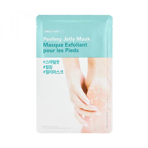 [THE FACE SHOP] Smile Foot Peeling Jelly Mask - 1pcs