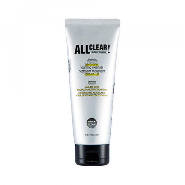 [THE FACE SHOP] All Clear All In One Foaming Cleanser - 150ml