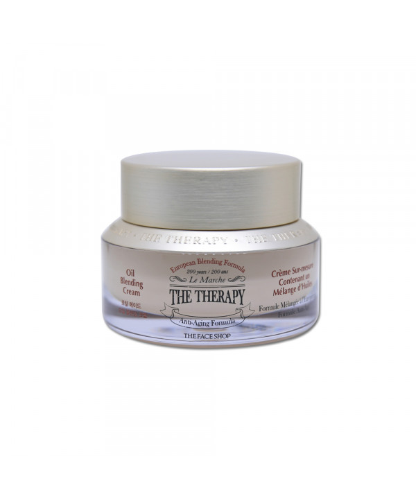[THE FACE SHOP] The Therapy Oil Blending Cream - 50ml