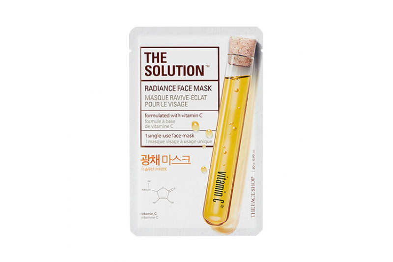 [THE FACE SHOP] The Solution Face Mask - 1pcs