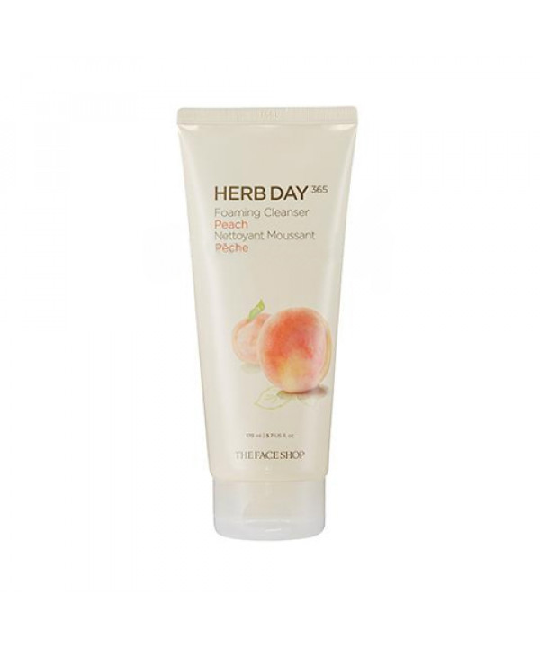 [THE FACE SHOP] Herb Day 365 Foaming Cleanser - 170ml
