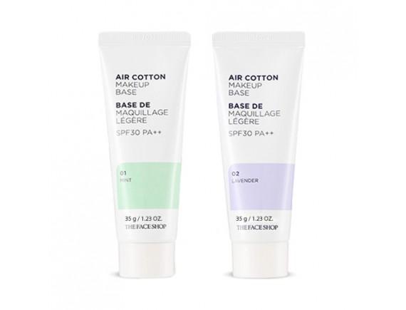 [THE FACE SHOP] Air Cotton Make Up Base - 35g (SPF30 PA++)