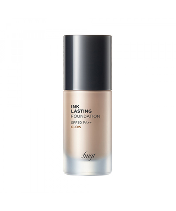 W-[THE FACE SHOP] Ink Lasting Foundation Glow - 30ml (SPF30 PA++) (New) x 10ea