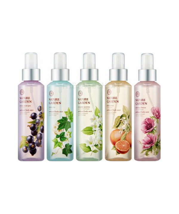 [THE FACE SHOP_50% SALE] Nature Garden Perfumed Body Mist - 155ml