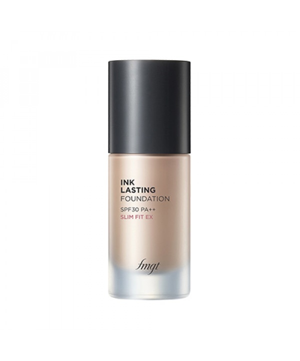 [THE FACE SHOP] Ink Lasting Foundation Slim Fit EX - 30ml (SPF30 PA++)