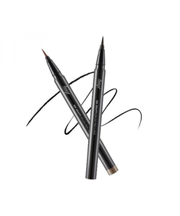 [THE FACE SHOP] Ink Graffi Brush Pen Liner - 0.6g