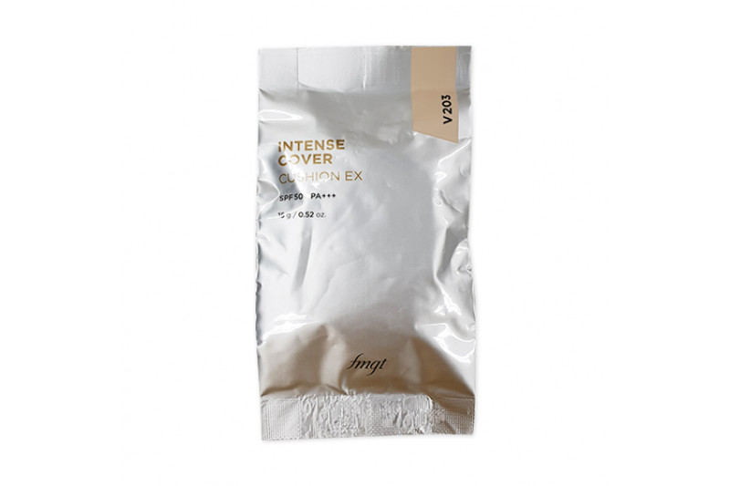[THE FACE SHOP] Intense Cover Cushion EX Refill - 15g (SPF50+ PA+++)