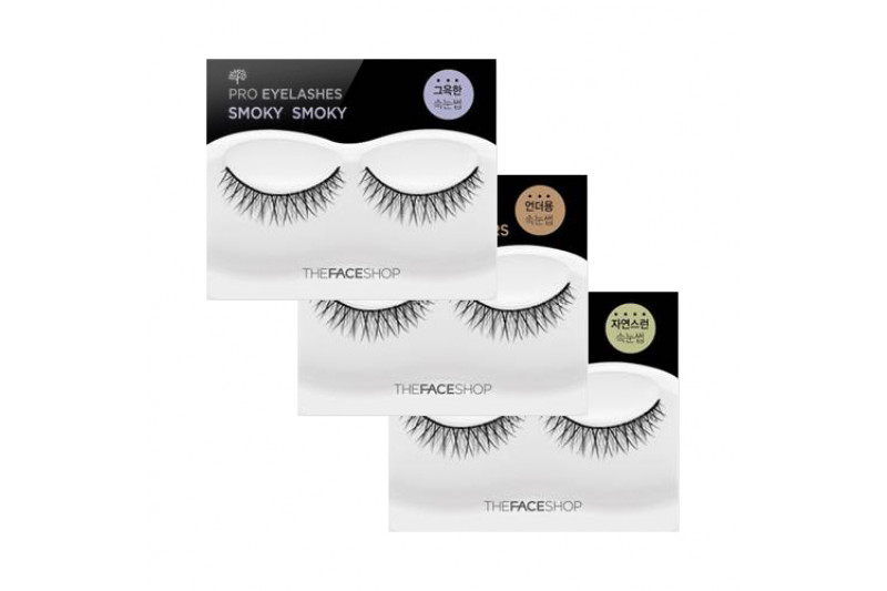 W-[THE FACE SHOP] Daily Beauty Tools Pro Eyelashes - 1pcs x 10ea