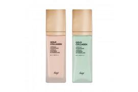 W-[THE FACE SHOP] Gold Collagen Ampoule Makeup Base - 40ml (SPF30 PA++) x 10ea