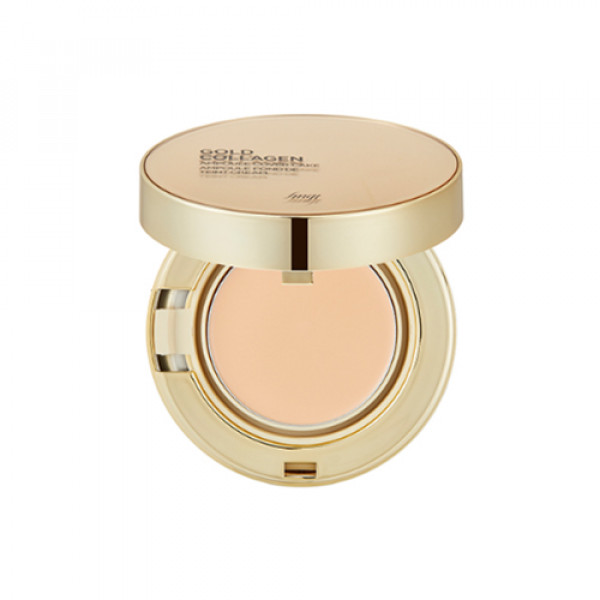 [THE FACE SHOP] Gold Collagen Ampoule Cover Cake - 10g (SPF50+ PA+++)