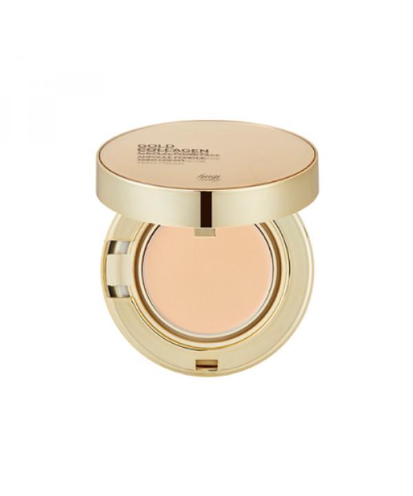 [THE FACE SHOP_50% SALE] Gold Collagen Ampoule Cover Cake - 10g (SPF50+ PA+++)