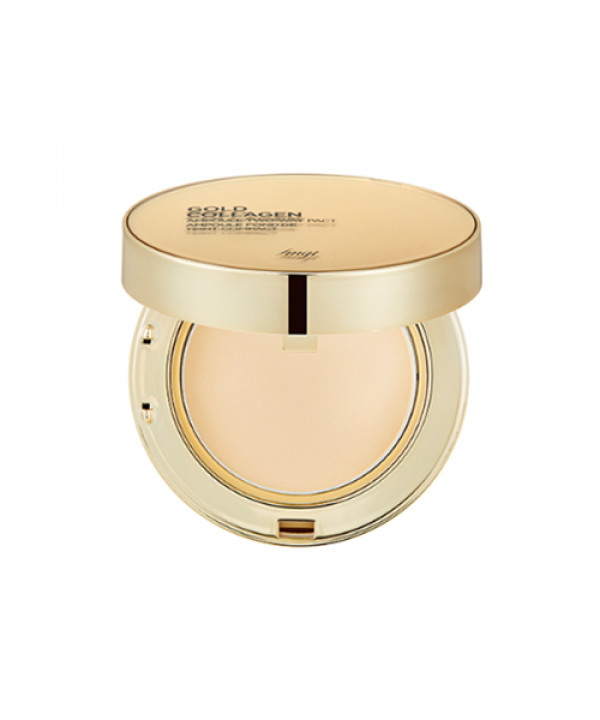 [THE FACE SHOP_50% SALE] Gold Collagen Ampoule Two Way Pact - 9.5g (SPF40 PA++)