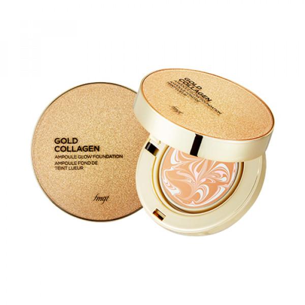 [THE FACE SHOP] Gold Collagen Ampoule Glow Foundation - 10g (SPF50+ PA+++)