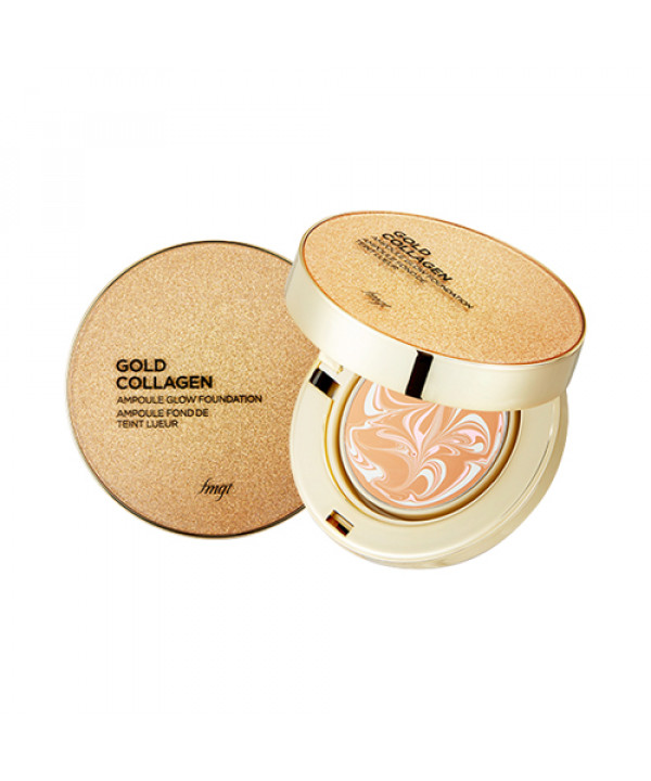 [THE FACE SHOP] Gold Collagen Ampoule Glow Foundation - 10g (SPF50+ PA+++)