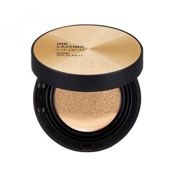 [THE FACE SHOP] Ink Lasting Cushion Glow - 15g (SPF35 PA++)