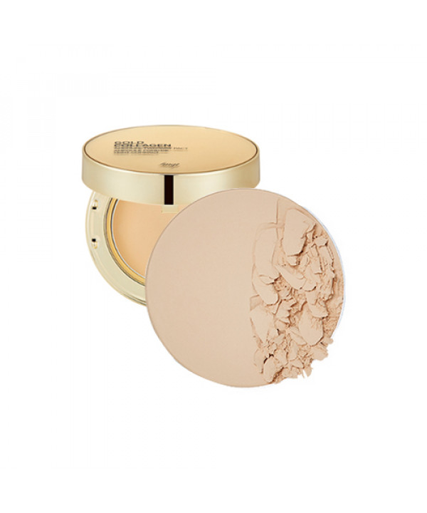 [THE FACE SHOP_50% SALE] Gold Collagen Ampoule Two Way Pact Refill - 9.5g