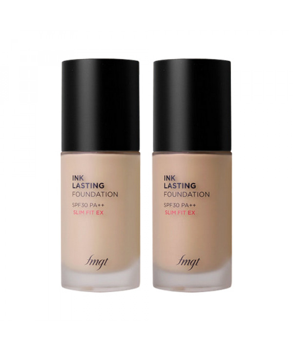 [THE FACE SHOP] Ink Lasting Foundation Slim Fit Ex Signature - 30ml