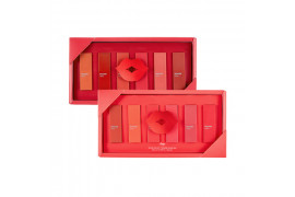 [THE FACE SHOP] Rouge Mini Kit - 1pcak (6items)