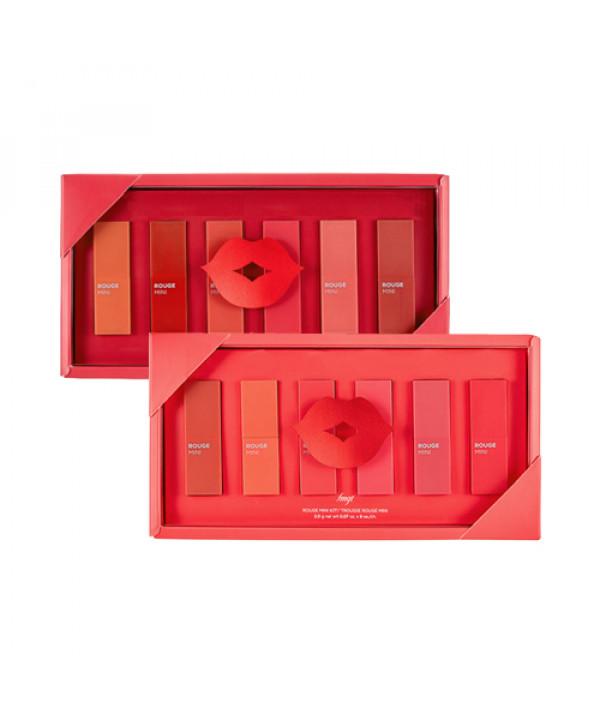 [THE FACE SHOP_50% SALE] Rouge Mini Kit - 1pcak (6items)