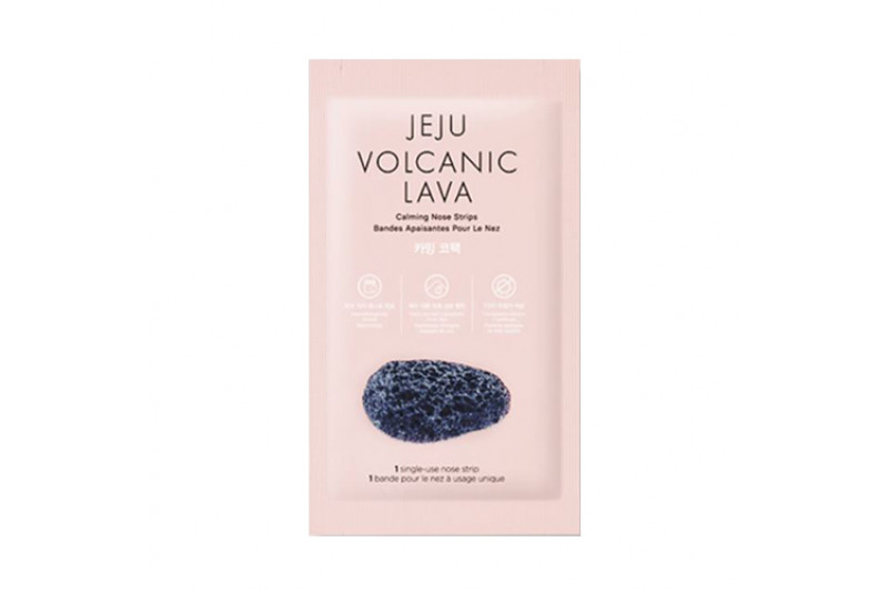[THE FACE SHOP] Jeju Volcanic Lava Nose Strips - 1pack (7pcs)