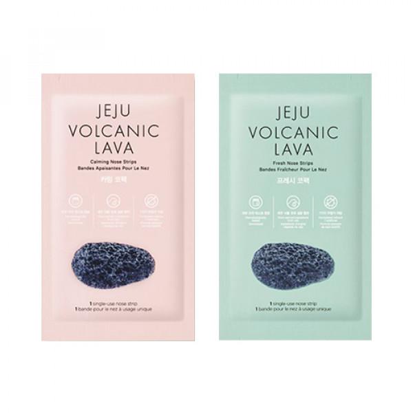 [THE FACE SHOP] Jeju Volcanic Lava Nose Strips - 1pack (7pcs)