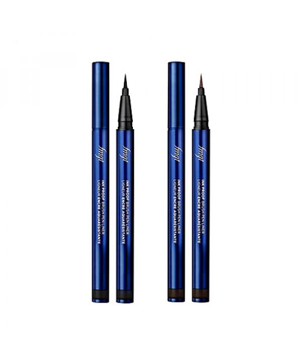 [THE FACE SHOP] Inkproof Brush Pen Liner (2020) - 0.6g
