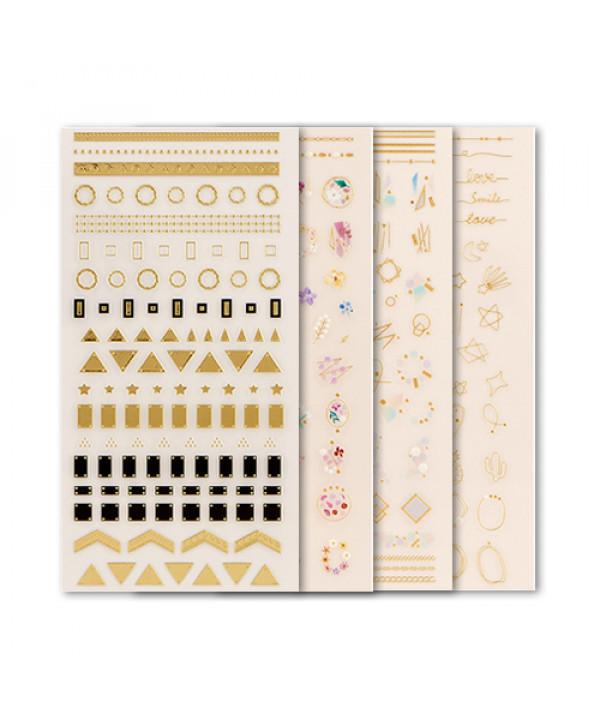 [THE FACE SHOP] Trendy Nails Art Sticker - 1pcs