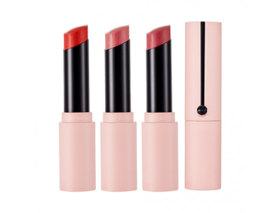 [THE FACE SHOP] Ink Sheer Matte Lipstick (Rosy Nude Edition) - 4.8g