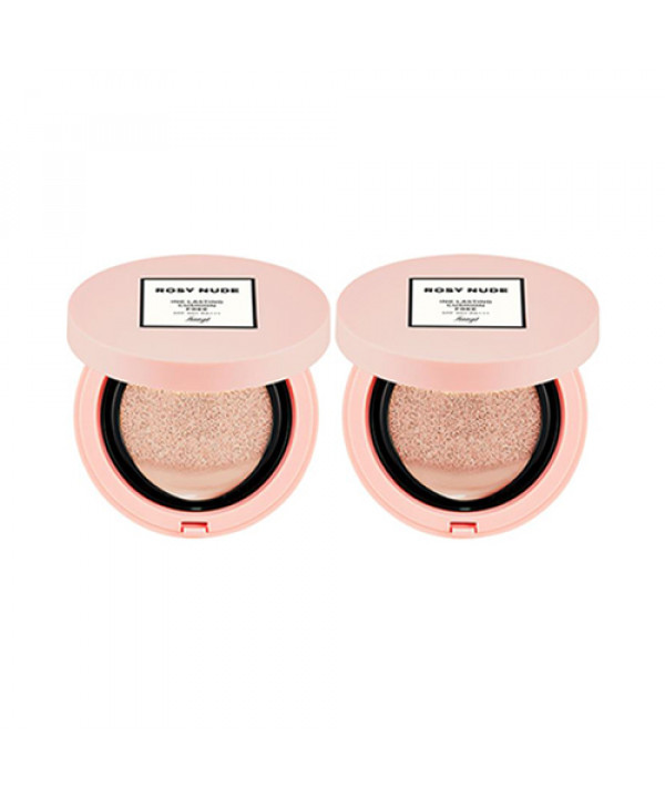 [THE FACE SHOP] Ink Lasting Cushion Free (Rosy Nude Edition) - 15g (SPF50+ PA+++)