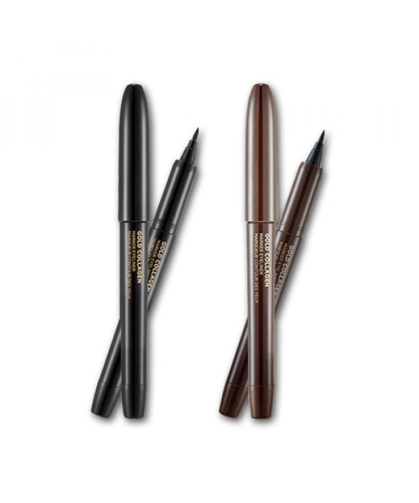 [THE FACE SHOP] Gold Collagen Marker Eyeliner - 1g