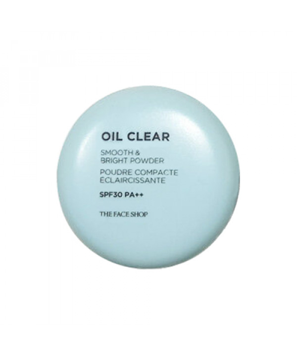 [THE FACE SHOP] Oil Clear Smooth & Bright Powder - 9g (SPF30 PA++)