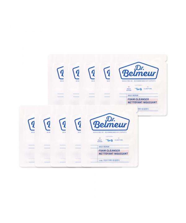 [THE FACE SHOP_Sample] Dr. Belmeur Daily Repair Foam Cleanser Samples - 10pcs