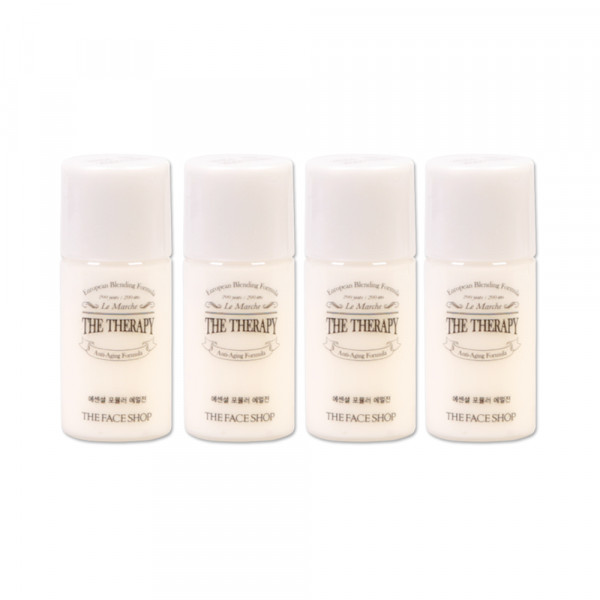 [THE FACE SHOP_Sample] The Therapy Essential Formula Emulsion Samples - 4ea