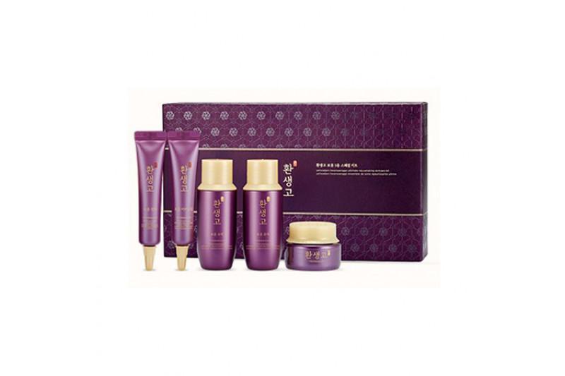 [THE FACE SHOP_Sample] Yehwadam Hwansaenggo Ultimate Rejuvenating Skincare Kit Sample - 1pack (5items)