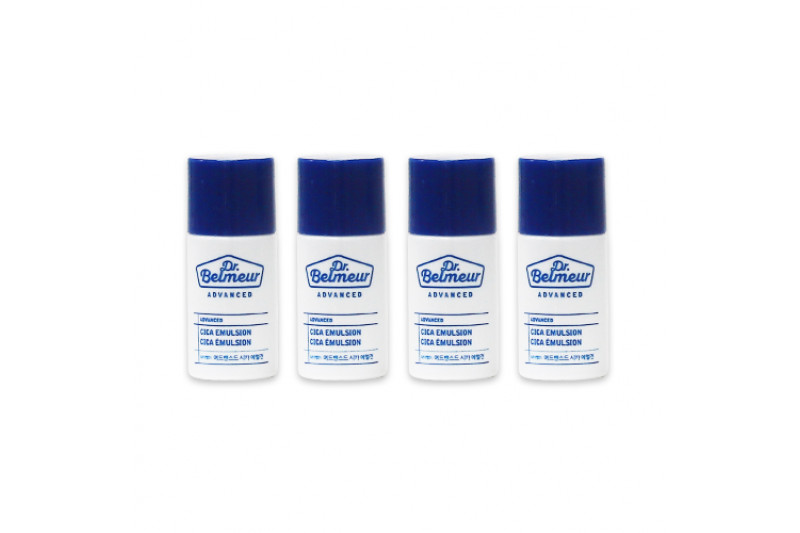 [THE FACE SHOP_Sample] Dr.Belmeur Advanced Cica Emulsion Samples - 4ea