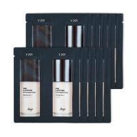 [THE FACE SHOP_Sample] Ink Lasting Foundation Glow Samples - 10pcs (SPF30 PA++) No.V201 Apricot Beige