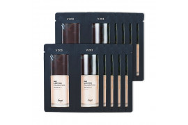 [THE FACE SHOP_Sample] Ink Lasting Foundation Glow Samples - 10pcs (SPF30 PA++) No.V203 Natural Beige