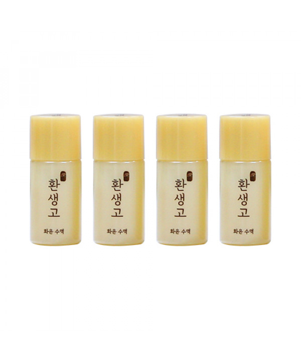 [THE FACE SHOP_Sample_50% SALE] Yehwadam Hwansaenggo Rejuvenating Radiance Toner Samples - 4pcs