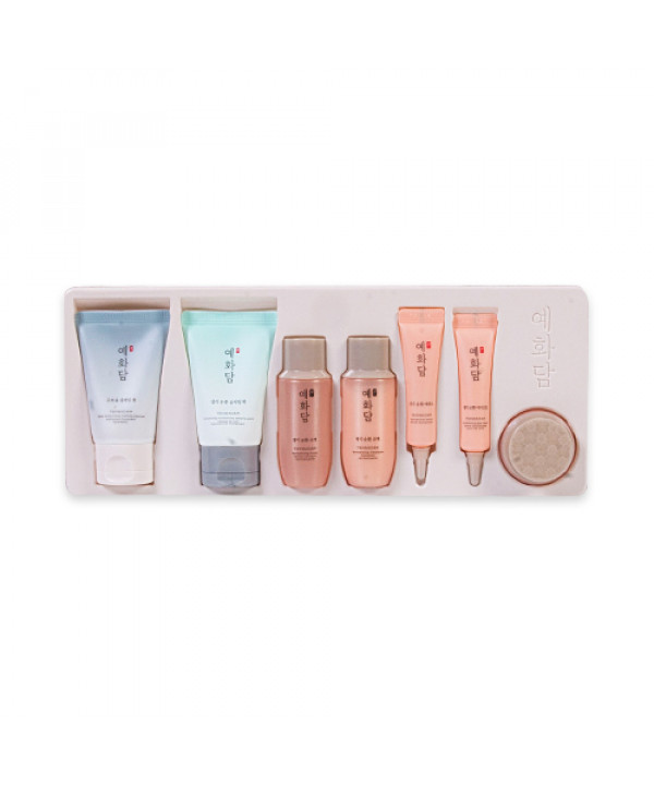 [THE FACE SHOP_Sample] Yehwadam Revitalizing Skincare Kit Samples - 1pack (7items)