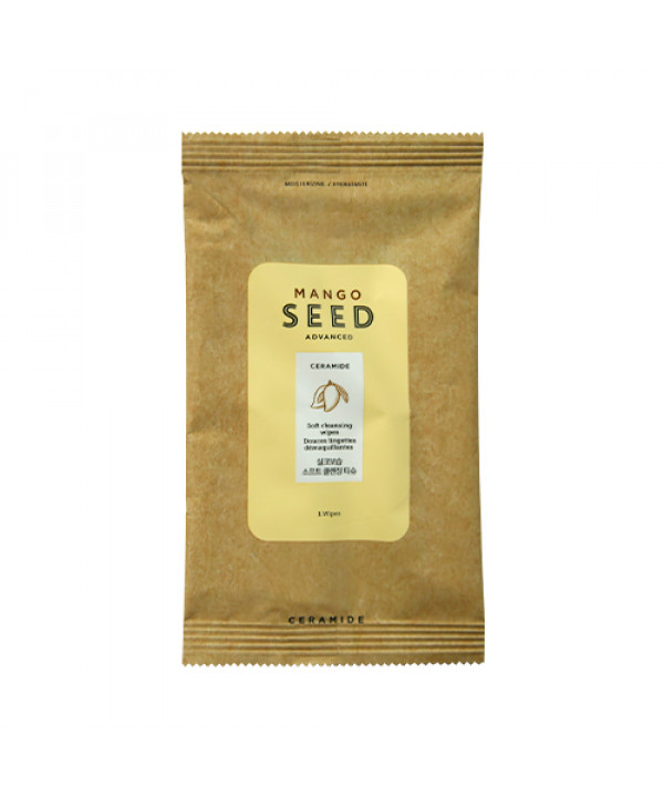 [THE FACE SHOP_Sample] Mango Seed Soft Cleansing Wipes Sample - 1pcs