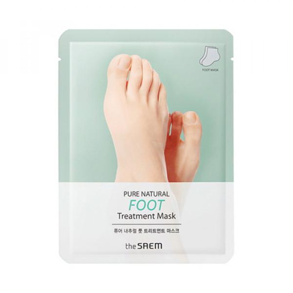 W-[THESAEM] Pure Natural Foot Treatment Mask - 1pcs x 10ea