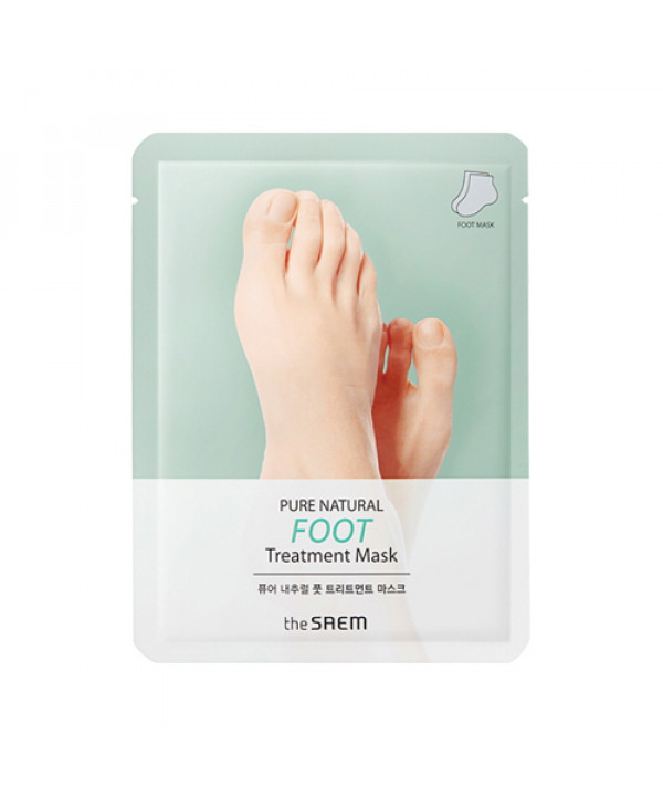 W-[THESAEM] Pure Natural Foot Treatment Mask - 1pcs x 10ea