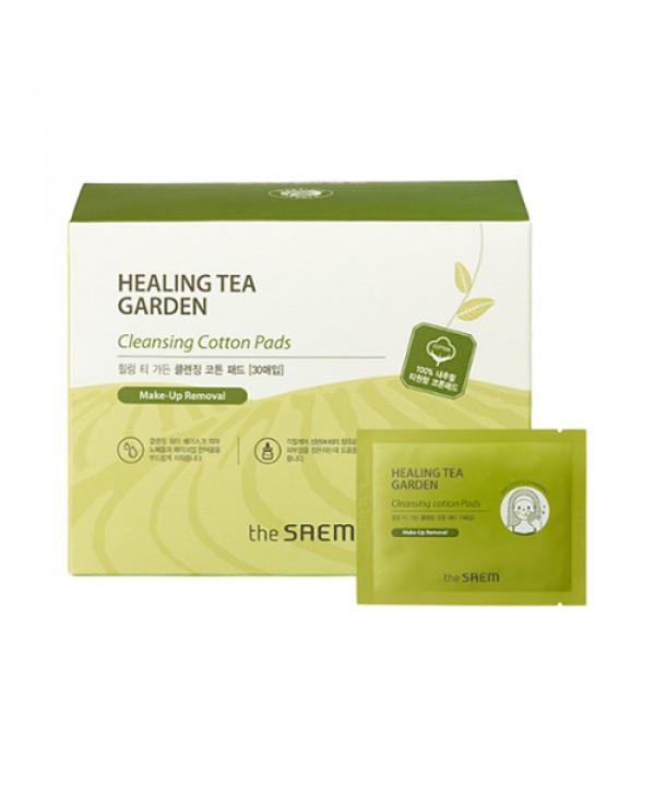 [THESAEM] Healing Tea Garden Cotton Pads - 1pack (30pcs) (New)